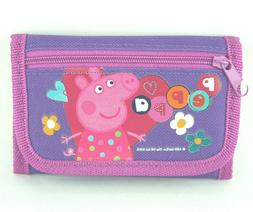 Peppa Pig Wallet for Girls Animated Cartoons Kids Wallets Tr