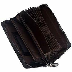 Wallet Men's wallet large capacity brand card with 22 Holds