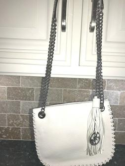 whipped chelsea white purse