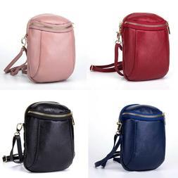 Woman Genuine Leather Handbag Shoulder Purse Messenger Cross