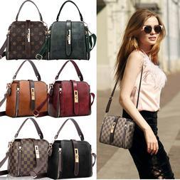 Woman Purses and Fashion Shoulder Handbags, PU Leather Cross