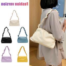 Woman Purses Cute Shoulder Handbags PU Top Handle Satchel Cr