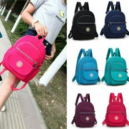Women Backpack Purse Anti-Theft Rucksack Waterproof Nylon Li