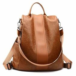 Women Backpack Purse Anti Theft Waterproof Detachable Covert