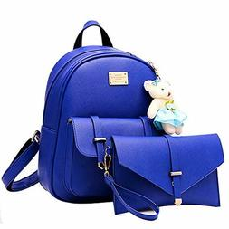 Women Backpack Purse for Girls School Bags Quilted Casual Sm