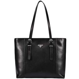 women briefcase leather laptop tote