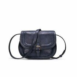 Women Crossbody Satchel Bag Small Saddle Purse and Tote Shou
