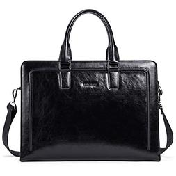 BOSTANTEN Women Genuine Leather Briefcase Tote Business Vint
