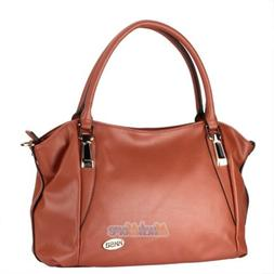 Women Genuine Leather Handbag Shoulder Bag Tote Purse Messen