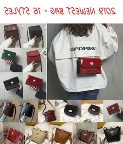 Women Genuine Leather Handbag Shoulder Ladies Purse Messenge
