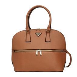 Women Girl Large Satchel Handbag Shoulder Tote School Bag Pu