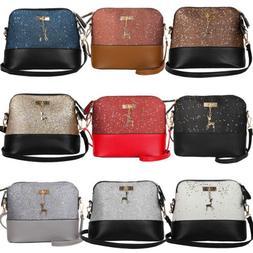 Women Ladies Crossbody Leather Shoulder Bag Tote Purse Handb