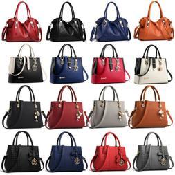Women Lady Leather Handbag Shoulder Messenger Satchel Tote H