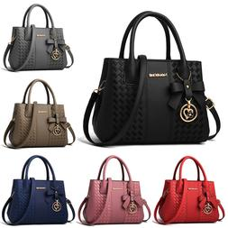 Women Leather Handbag Shoulder Bag Crossbody Tote Hobo Lady