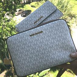 Michael Kors Women Leather Messenger Crossbody Bag Handbag P