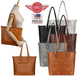 Women Leather Purses and Handbags Shoulder Hobo Crossbody To