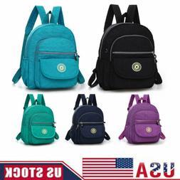 Women Mini Backpack Purse Nylon Small Backpack Shoulder Ruck