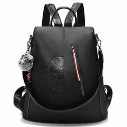 Women Nylon Backpack Purse waterproof Anti-theft Handbag Ruc