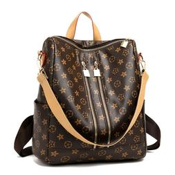women pu leather backpack bag cute fashion