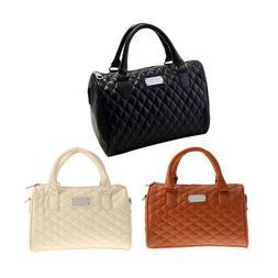 Women PU Leather Handbag Shoulder Bag Purse Tote Messenger S