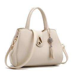 Women PU Leather Handbag Shoulder Messenger Satchel Tote Cro