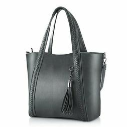 Women Purses and Handbags PU Leather Women's Tote Bags with