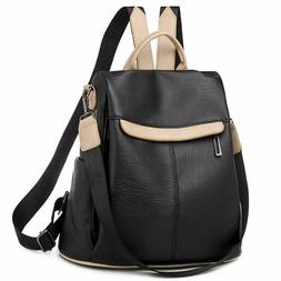 Women's Anti Theft Convertible Backpack Purse Lightweight Le