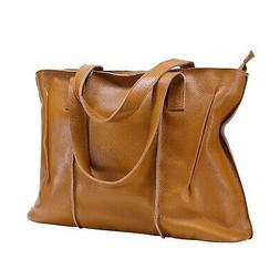 Itslife Women's Cowhide Leather Designer Handbags Purse Tote