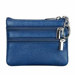 Women's Genuine Leather Coin Purse Mini Pouch Change Wallet