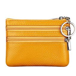 Women's Genuine Leather Coin Purse Mini Pouch Change Wallet