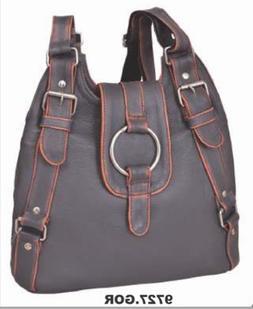 UNIK Women's Genuine Leather Concealed Carry Handbag / Purse