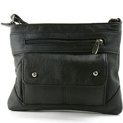 Women's Genuine Leather Handbag Cross Body Bag Shoulder Bag