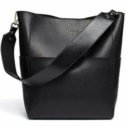 Women's Leather Designer Handbags Tote Purses Shoulder Bucke