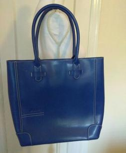 BOSTANTEN Women's Leather Handbag Designer Tote Purse Blue