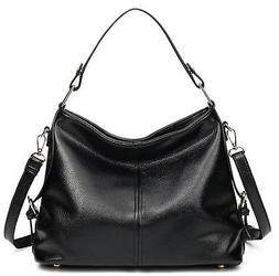 Women's Leather Hobo Handbag from Covelin, Durable Shoulder