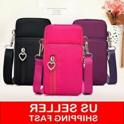 Women's Lovely Mini Cross-Body Cell Phone Shoulder Strap Wal