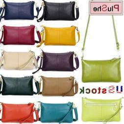 Women's Messenger Hobo Bag Genuine Leather Handbag Shoulder