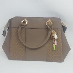 Women's Tote Shoulder Bag from Dreubea, Retro Purse Leather