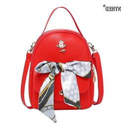 NYHED Women Small <font><b>Backpack</b></font> Fashion Scarv