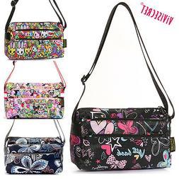 Women Small Nylon Handbag Cartoon Crossbody Messenger Bag To