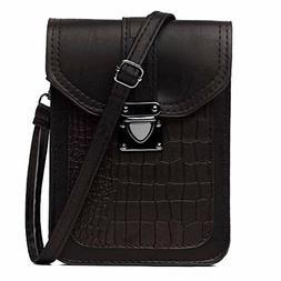VOLGANIK ROCK Women Synthetic Leather Small Crossbody Purse,