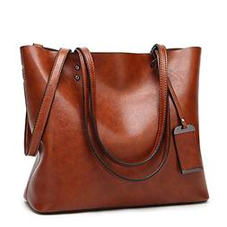 Women Top Handle Satchel Handbags Shoulder Bag Messenger Tot