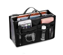 Women Travel Insert Handbag Organizer Purse Large Liner Orga