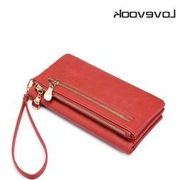 LOVEVOOK women wallet female long purse card holder multi ca