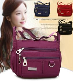 Women Waterproof Single-shoulder Messenger Crossbody Bag Nyl