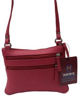Womens Genuine Leather Small Crossbody Shoulder Designer Bag