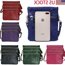 Womens Lovely Mini Crossbody Cell Phone Shoulder Strap Walle