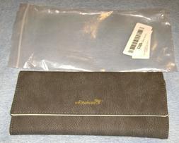 Travelambo Womens Wallet Faux Leather RFID Blocking Purse Cr