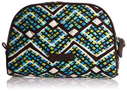 Vera Bradley Small Zip Cosmetic, Rain Forest